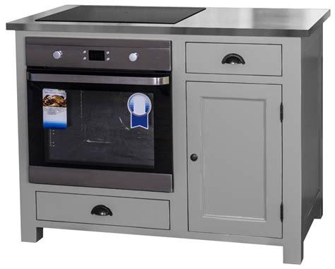 meuble cuisine plaque et four meuble four encastrable