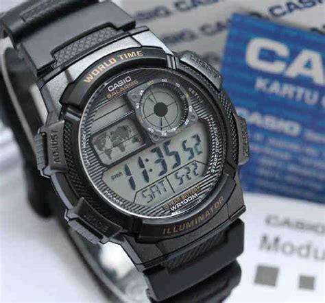 Jam Waterproff Rubber Original Bergaransi jam tangan casio af jam tangan original murah