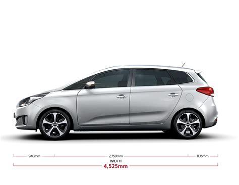 Kia Dimensions Kia Carens Specs 7 Seater Mpv Kia Motors Hong Kong
