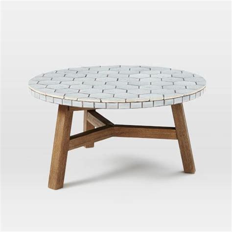 Mosaic Tile Coffee Table Mosaic Tiled Coffee Table