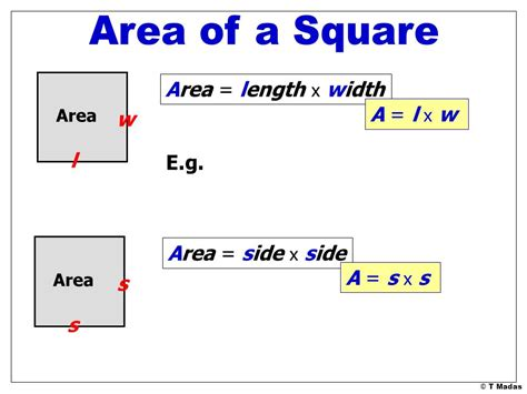 Area Of Shapes 169 T Madas Ppt Video Online Download What Is The Length And Width Of A Bed
