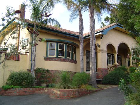 Mission Style House | file spanish mission style house in heidelberg victoria jpg