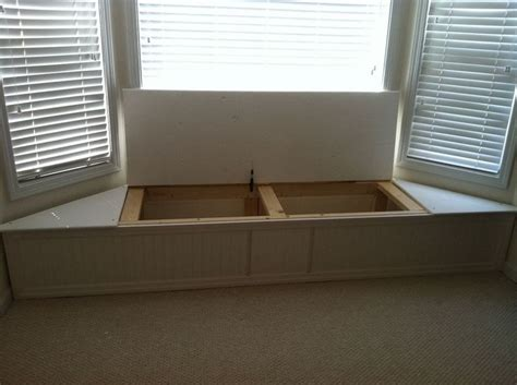 bay window bench seat this ingenious flip top bench adds seating and storage to