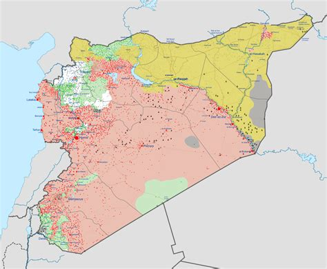 syrian civil war wikipedia