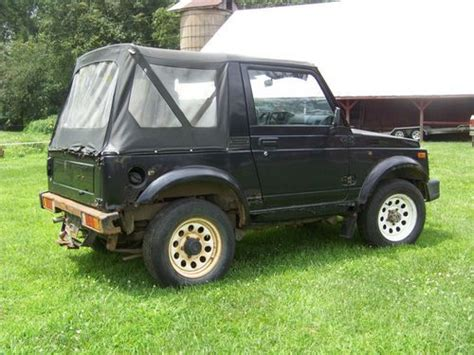 Buy Suzuki Sidekick Used Suzuki Samurai For Sale By Owner Sell My Suzuki