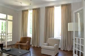 indogate rideau blanc salon