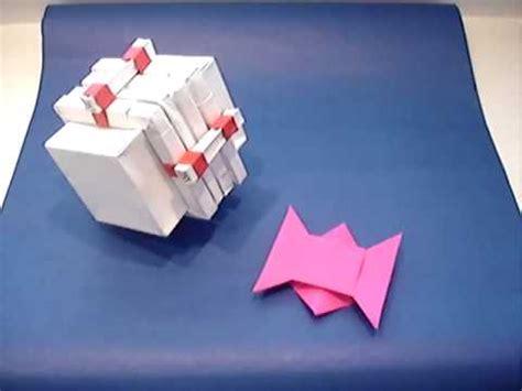 Origami Puzzle Box - origami puzzle box and challenge wmv