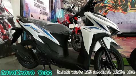 Honda Vario 125 Cbs new honda vario 125 cbs cbs iss advance white blue