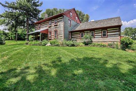 Log Cabins For Sale Pa house tour an updated log cabin in pennsylvania