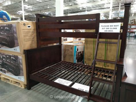 costco bunk bed bayside furnishings bunkbed
