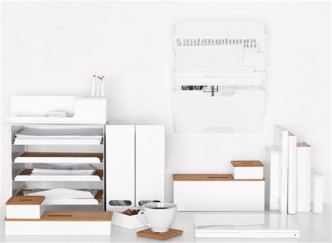 Ikea Desk Organization Ikea Kvissle Home Office Series Accessories Better Living Through Design