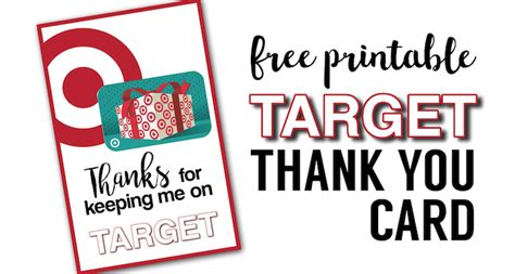 Where Can I Buy A Target Gift Card - target thank you cards free printable paper trail design