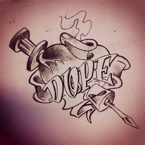 dope tattoos tumblr dope drawings pictures to pin on