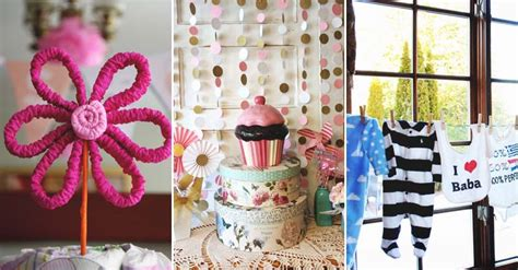 Diy Baby Shower Decorations For A by 21 Diy Baby Shower Decorations To And Spoil Any