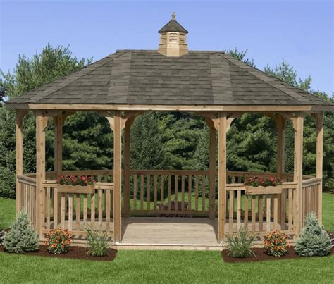 wood gazebo 89 gazebo designs ideas wood vinyl octagon rectangle