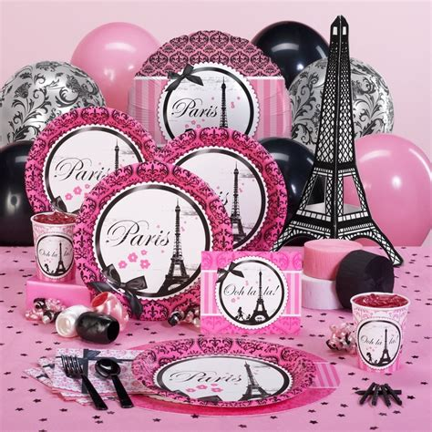 paris themed birthday decorations paris themed party supplies party and party and yeaa