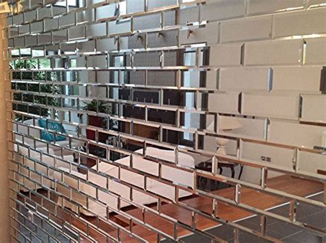 piastrelle specchio my furniture piastrelle a specchio smussate color argento