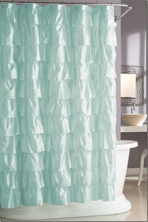 bed bath beyond bathroom ruffled shower curtain bed bath and beyond curtain menzilperde net