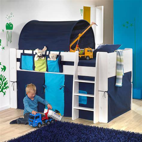 vorhänge kinder kinderzimmer ideen mit dachschr 228 ge