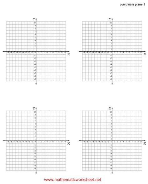 printable worksheets with coordinate planes search