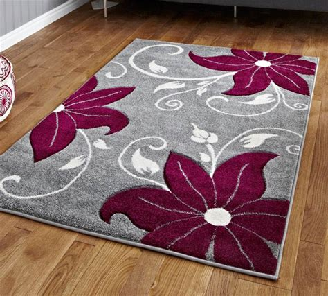 flower pattern rugs grey and purple rug stunning floral flower pattern large