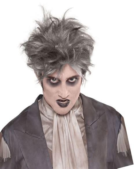 male wigs variety of colours fancy dress accessory 50 s 60 adult walking dead zombie wig mens halloween party fancy