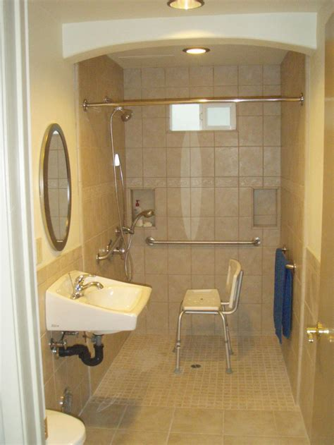 Handicap Bathroom Showers Small Handicap Bathroom Designs