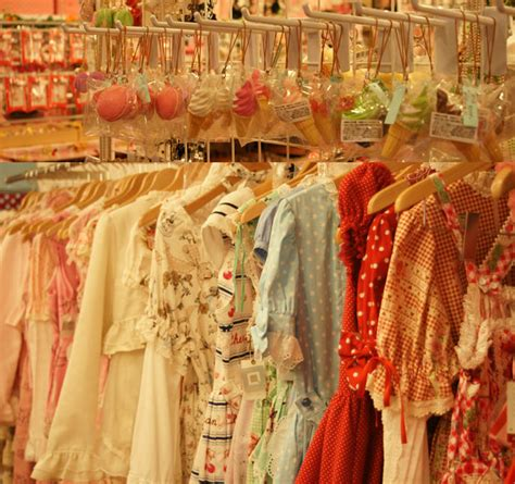 sweet shopping in tokyo vintage japanese dresses