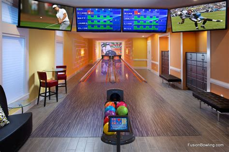 home bowling alley reunion fl contemporary home