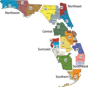 florida judicial circuits map media guide florida department of children and families