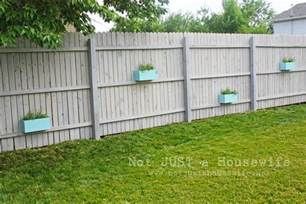 fence paint colors planter boxes on the fence risenmay