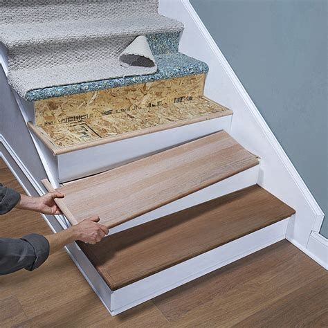shop retrotread 11 5 in x 42 in stair tread at lowes com