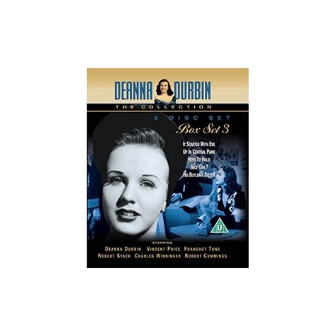 Deana Set 3 In 1 by Deanna Durbin Box Set 3 Buy Musical