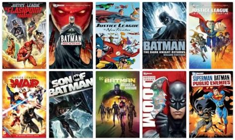 superhero cartoon film 30 dc animated movies to free download torrent or watch