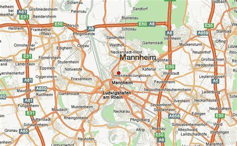 manheim germany map guide urbain de mannheim