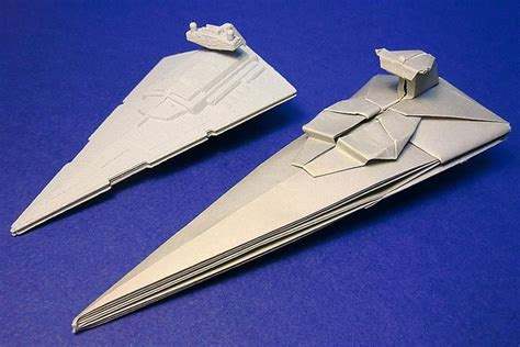 How To Make Paper Wars Ships - origami spaceships by shu sugamata origami ideas