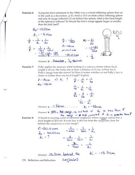physics tutorial questions and answers 100 electromagnetic waves worksheet optics for kids