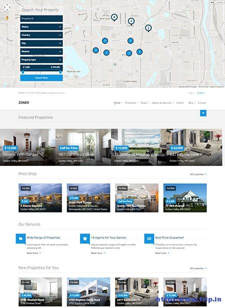template joomla real estate free 81 joomla real estate templates 20 real estate joomla