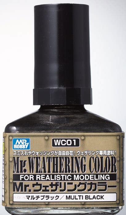 Diskon Mr Weathering Color 01 mr hobby wc 01 mr weathering color multi black 40ml