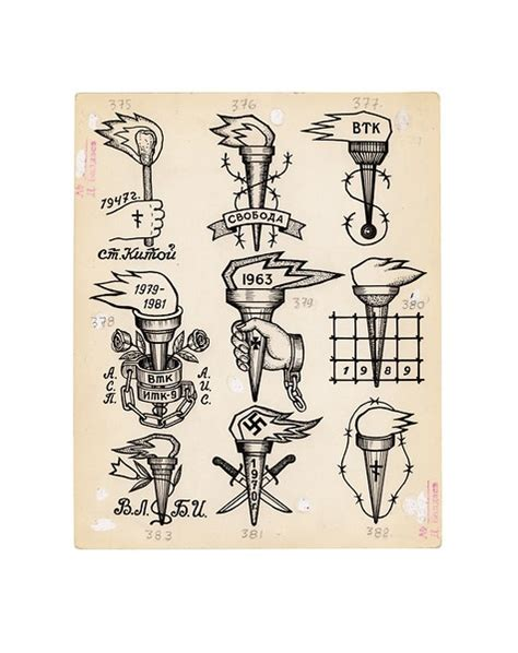 drawing no 9 drawings russian criminal tattoo archive
