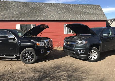chevy colorado vs gmc gas or diesel 2017 chevy colorado v6 vs gmc
