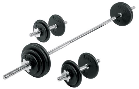 Dumbel Barbel pro cast iron dumbbell barbell spinlock set york barbell