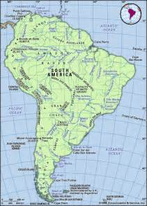 physical features map of south america south america physical geography encyclopedia