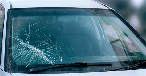 broken glass repair how do windshield cracks and chips occur go glass