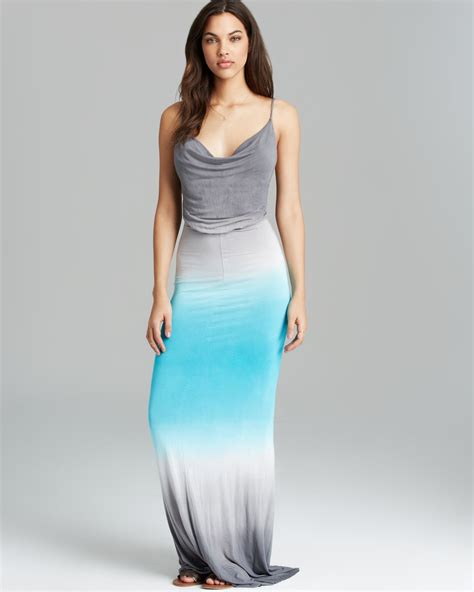 Young fabulous & broke Maxi Dress Lavinia Ombre in Blue   Lyst
