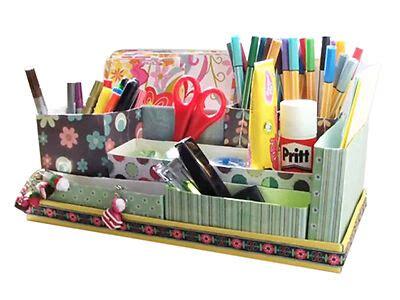diy desk organizer diy cardboard desk organizer ebay