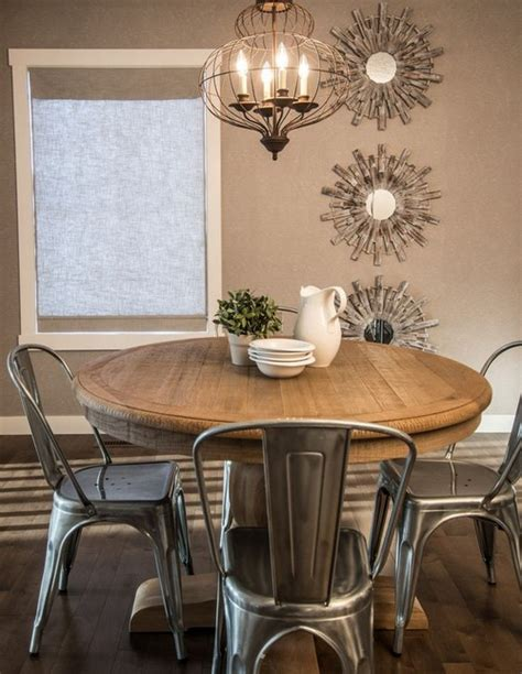 rustic modern dining room tables 22 pedestal tables for dining or entry room messagenote