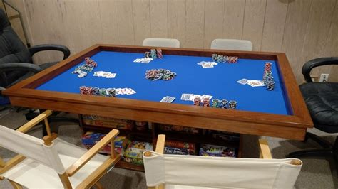 diy gaming table build your own gaming table with plenty of storage your