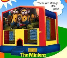 Minion Bounce House by Cool Inflatables On Bounce Houses Water