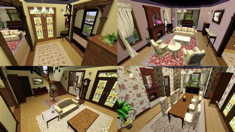 Floor Plan Free Download Mod The Sims Halliwell Manor Charmed No Cc Store